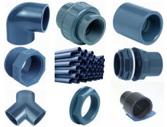 Fittings aus PVC