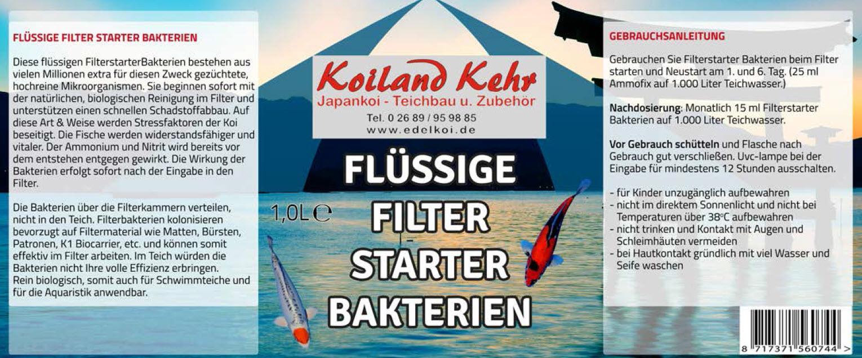 Koiland Kehr Filterstarter