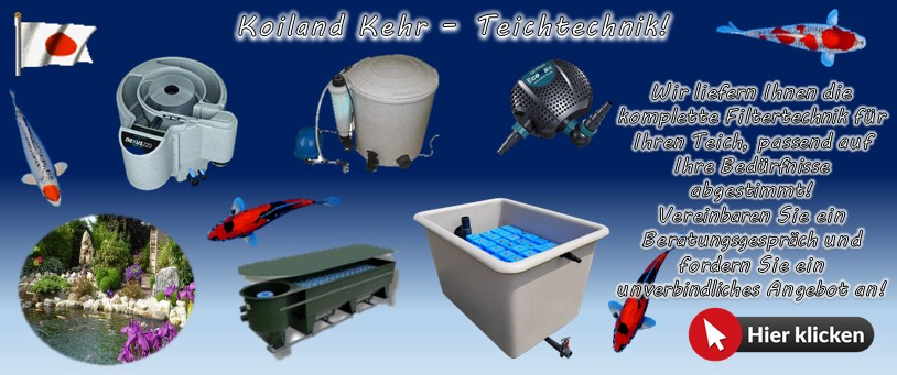 Teichfilter und Teichpumpen