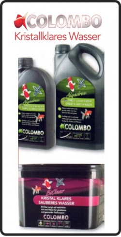 COLOMBO Algadrex Kristallklares Wasser