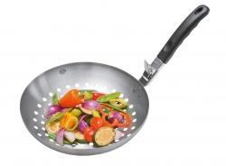 Gefu Gemüse-Wok mit abnehmbarem Griff, BBQ, Grillzubehör