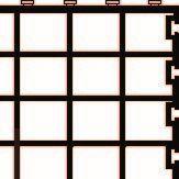 Filtermedienauflage 34x20x1,5cm