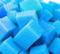 50 Liter Schaumstoffwürfen im Filtermedienbeutel