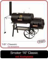 JOEs Smoker 16 Zoll Classic mit Kochplatte