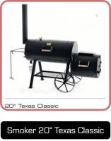 JOEs 20 Zoll Texas Classic Smoker bei Anjas Grill-Shop
