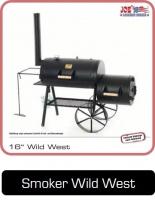 JOEs Barbeque Smoker, das Original, 16 Zoll Wild West