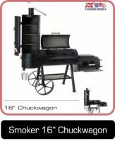 Smoker Grill 16 Zoll Chuckwagon bei Anjas Grill-Shop