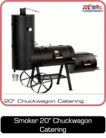 Smoker 20 Zoll Chuckwagon Catering