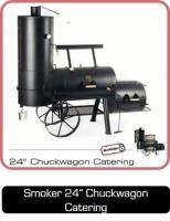 Smoker 24 Zoll Chuckwagon Catering bei Anjas Grillshop