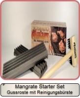 Mangrate TM Starter Set Gussroste mit Reinigungsbürste