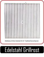 JOEs Edelstahl Grillrost aus Edelstahl, RechteckForm, für Garkammer