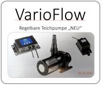 VarioFlow - Regelbare Teichpumpe
