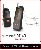 Maverick Wireless Barbeque Smoker Thermometer RT 40