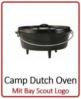 Camp Dutch Oven mit Boy Scout Logo