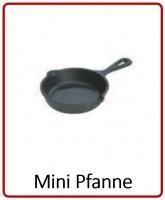 Mini Pfanne, Gusspfanne Aschenbecher