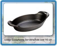 GUSSPFANNE oval 16 cm