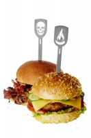 Hamburger Speße Edelstahl Torro, BBQ, Set 2 Stück Grillzubehör