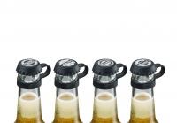 Kronkorken Pepp, 4 Stück mit Motiven, Flaschenverschluss