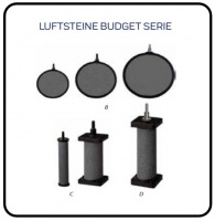 BELÜFTERSTEINE Budget (Scheibe + Zylinder)