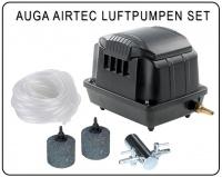 Auga AirTec Luftpumpen Set zur Sauerstoffanreicherung in Teichen