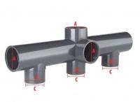 PVC Verteiler 50mm