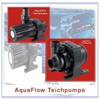 AquaFlow Teichpumpe, nass und trocken aufstellbar. Für Filter und Bachläufe.